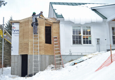 Photo: Craftsbury Library Addition