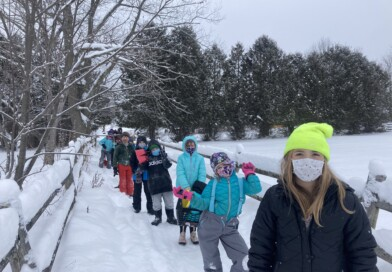 Craftsbury Third Graders Learn in the Outdoors