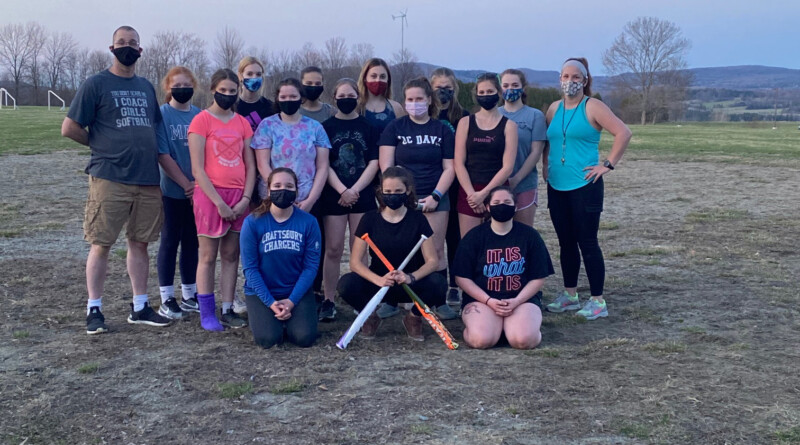 Lady Charger Softball Full of Optimism