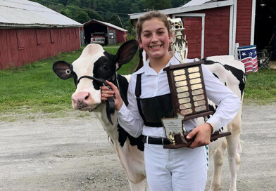 Local 4-H'ers Compete at Dairy Show